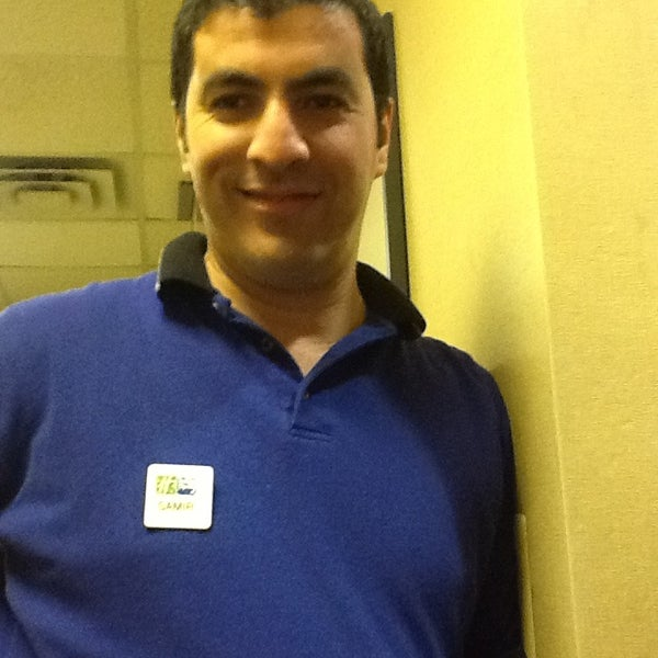 Photo taken at Holiday Inn Express by Stacey B. on 12/30/2012
