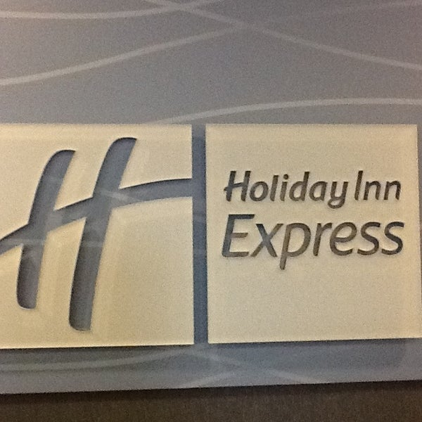 Photo taken at Holiday Inn Express by Stacey B. on 12/22/2012