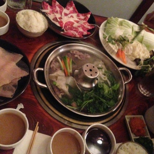 Photo taken at Shabu-Tatsu by Ellen C on 10/15/2012