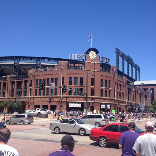 Photo taken at Coors Field by Phil G. on 6/2/2013