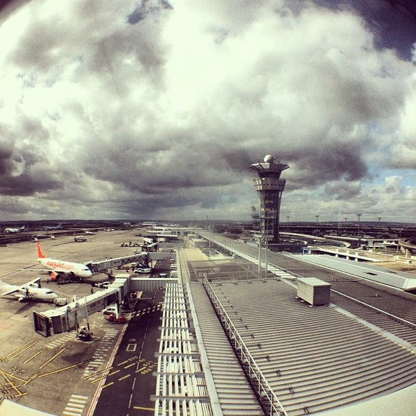 Photo taken at Aéroport de Paris-Orly (ORY) by Sebastian K. on 3/19/2013