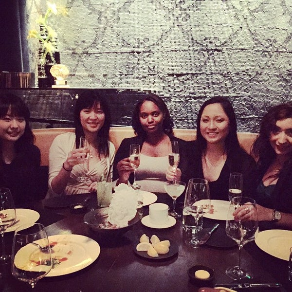 Photo taken at Jean Georges Steakhouse by Julie L. on 10/1/2014