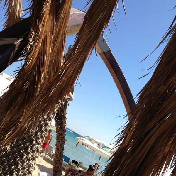 Photo taken at Ramo Beach by Bahadır K. on 8/6/2013