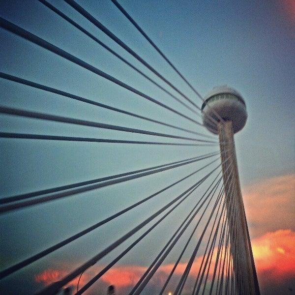 Photo taken at Ponte Estaiada by Aldo R. on 3/28/2013