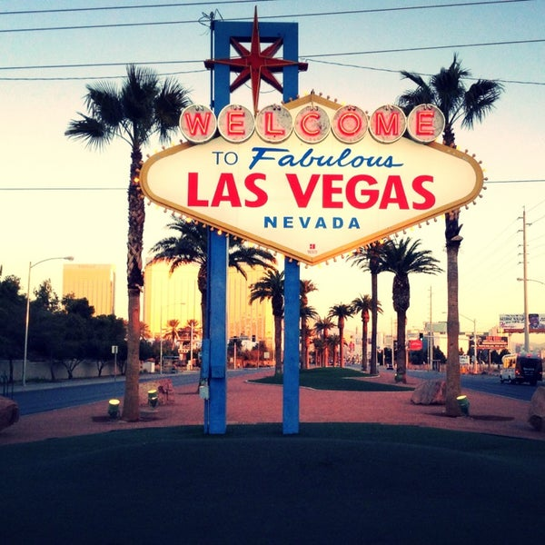Photo taken at Welcome To Fabulous Las Vegas Sign by Cocöy a. on 2/17/2013