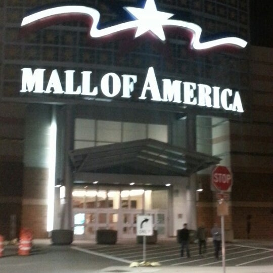 Photo taken at Mall of America by Michael F. on 11/7/2012