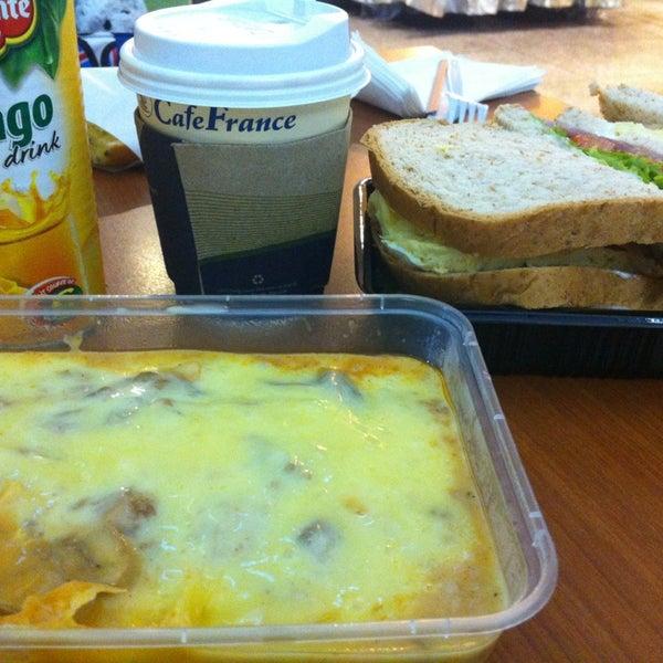 Photo taken at Café France by iken t. on 12/28/2012
