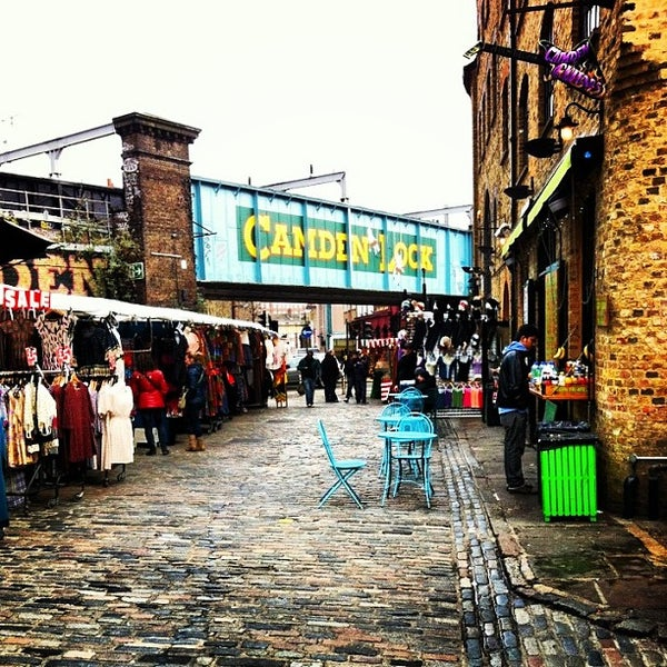 Coolest Places To Eat London: Camden Lock Market