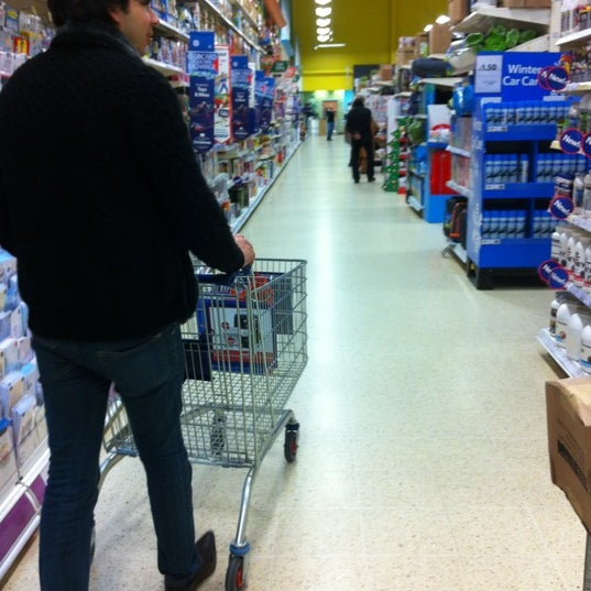 Photo taken at Tesco by Marisa on 11/12/2012