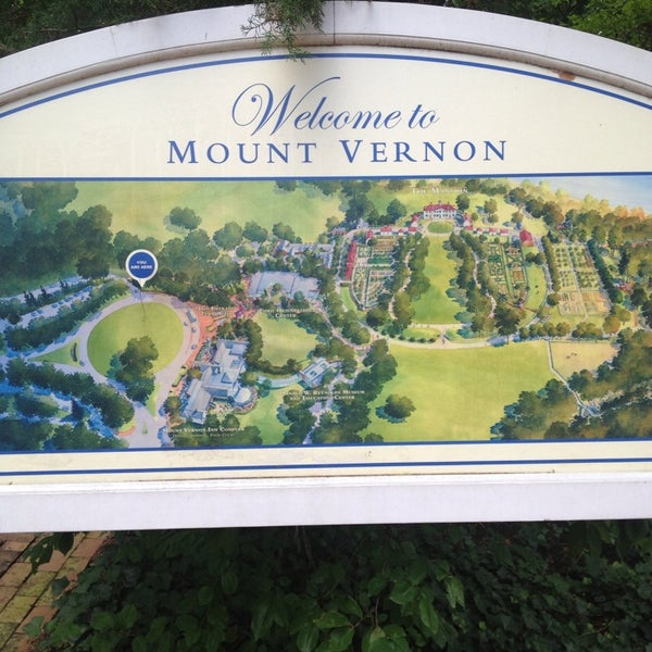 Photo taken at George Washington's Mount Vernon Estate, Museum & Gardens by Robert S. on 7/3/2013