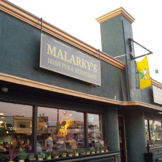 Photo taken at Malarky's Irish Pub by dannysullivan on 10/16/2012
