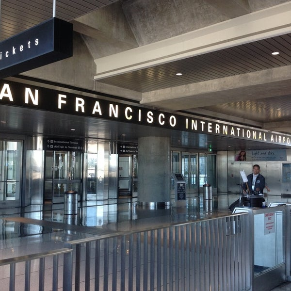 Photo taken at San Francisco International Airport (SFO) by Kevin C. on 10/3/2013