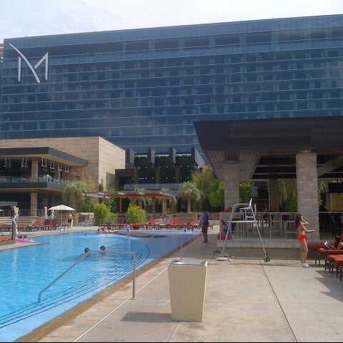 Photo taken at M Resort Spa Casino by @eKerm on 7/12/2013