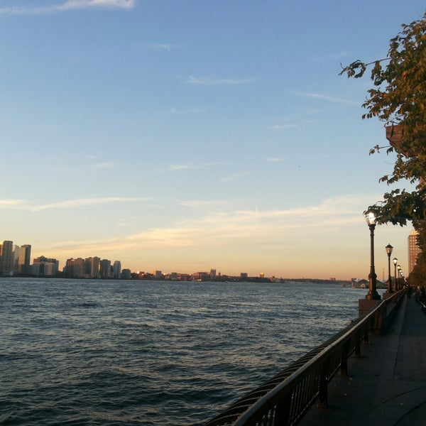 Photo taken at Battery Park City Esplanade by Naima H. on 10/28/2014