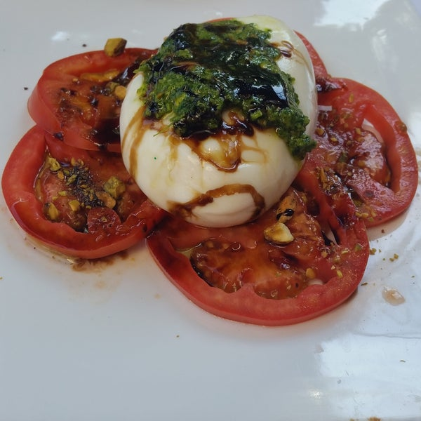 Burrata is to die for! Literally one of the best!