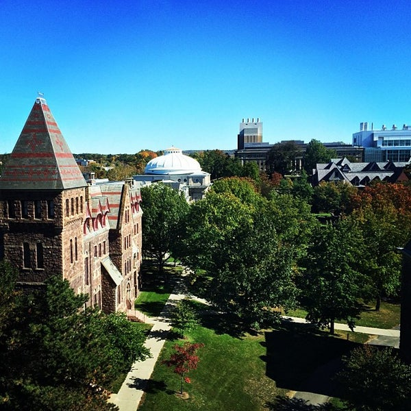Photo taken at Cornell University by Jason T. on 10/12/2013