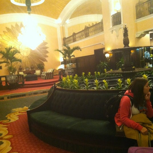 Photo taken at Amway Grand Plaza Hotel by Nathan L. on 11/1/2012