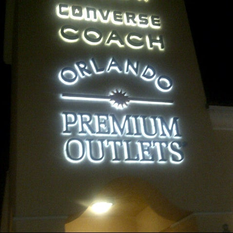 Photo taken at Orlando Premium Outlets - Vineland Ave by Matt T. on 10/10/2012