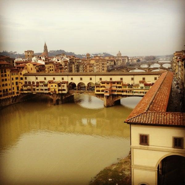 Photo taken at Uffizi Gallery by Josh G. on 2/27/2013