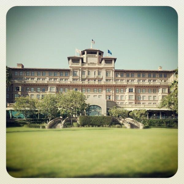 Photo taken at Langham Huntington Hotel by Jeffrey L. on 10/7/2012