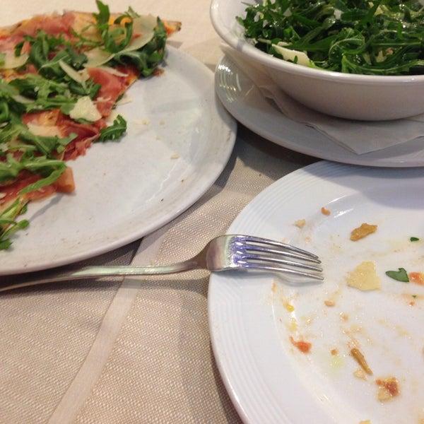Photo taken at Canasta Pizzeria & Ristorante by Адель К. on 4/4/2014