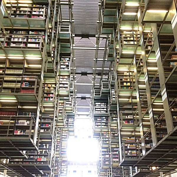 Photo taken at Biblioteca Vasconcelos by Didier G. on 6/15/2015