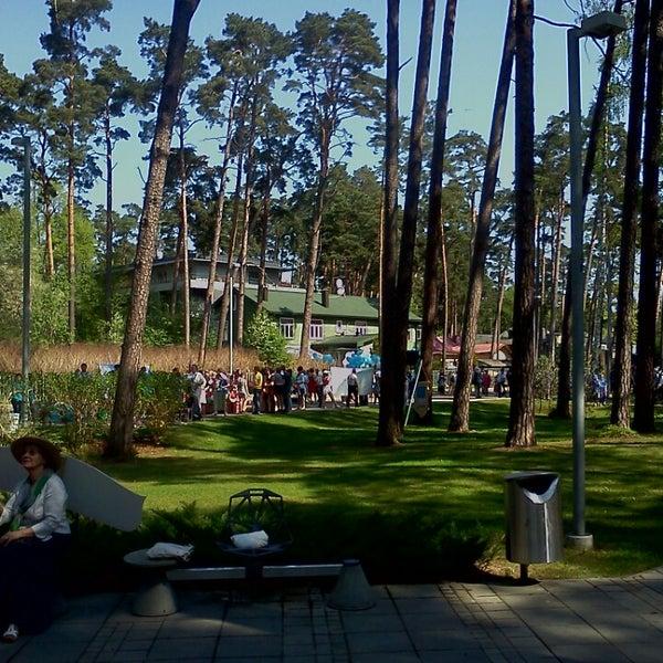 Photo taken at Dzintaru Mežaparks by Raivis A. on 5/18/2013