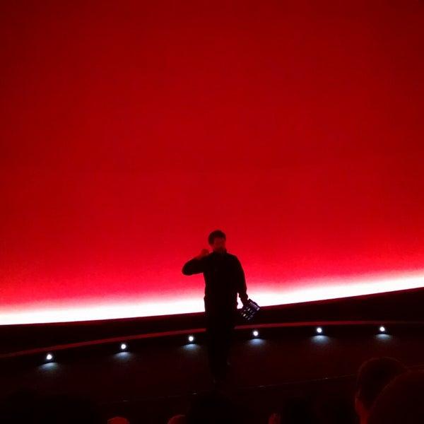 Photo taken at Morrison Planetarium by Baris B. on 12/13/2014