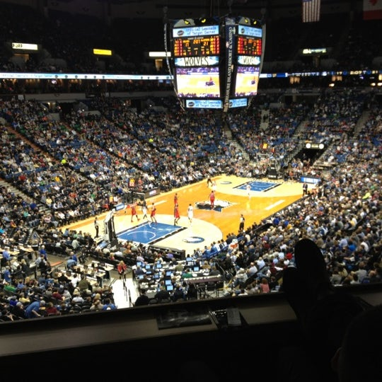 Photo taken at Target Center by Nellie M. on 1/18/2013