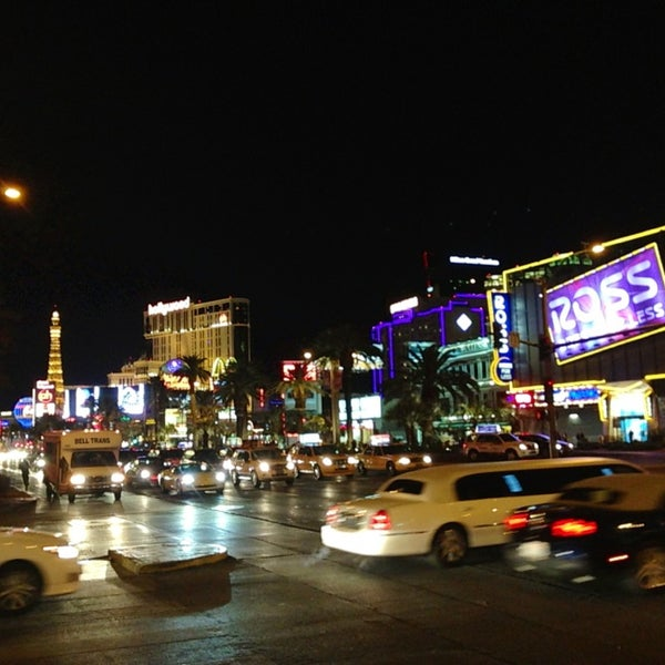Photo taken at The Las Vegas Strip by Sam G. on 2/25/2013