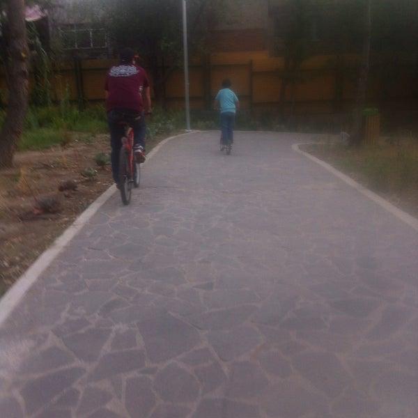 Photo taken at Parque Ecologico Huayamilpas by Nidia Z. on 4/3/2016