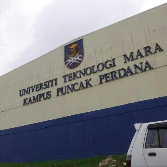 Photo taken at UiTM Puncak Perdana by Ahmad A. on 10/11/2012