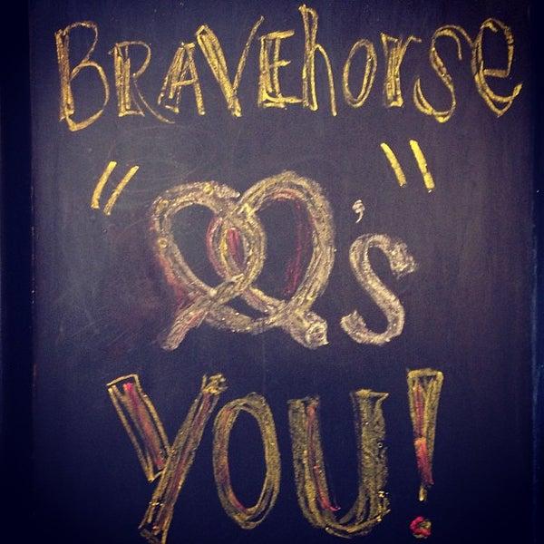 Photo taken at Brave Horse Tavern by Herschell T. on 3/22/2013