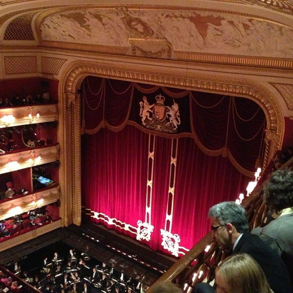 Photo taken at Royal Opera House by Ty K. on 12/20/2012