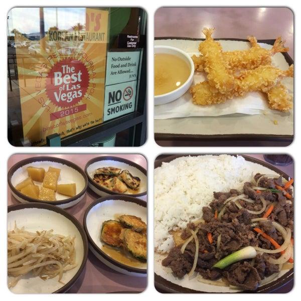 Photo taken at Jun's House Korean Restaurant by Liberty A. on 5/9/2015