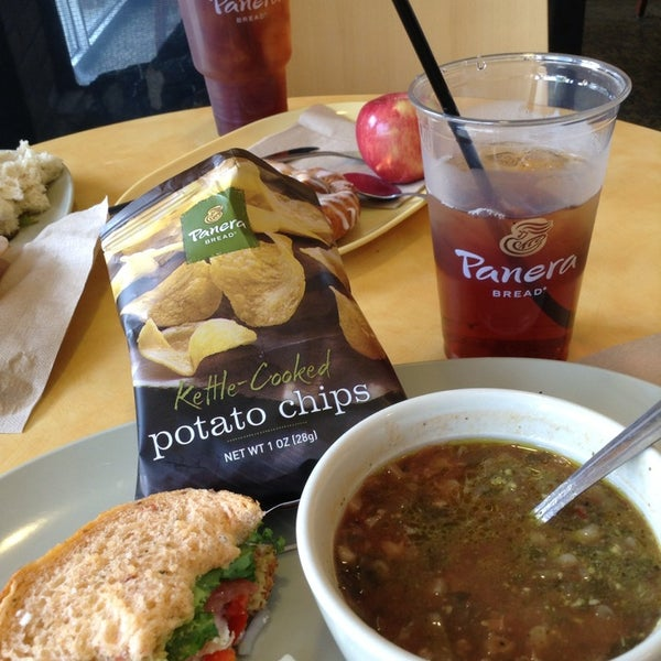 Photo taken at Panera Bread by  Frank S. on 7/19/2013