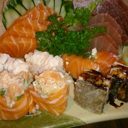 Photo taken at Joy Sushi by Lari Z. on 3/21/2015