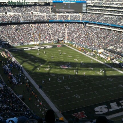 Photo taken at MetLife Stadium by Rickie F. on 12/23/2012
