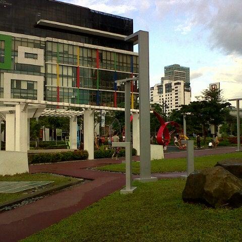 Photo taken at Bonifacio High Playground by James R. on 10/30/2012