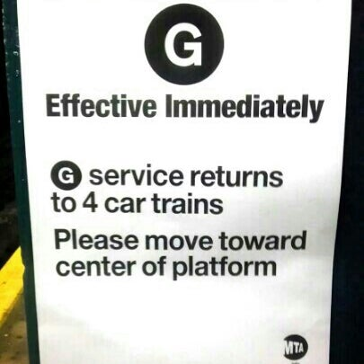 Photo taken at MTA Subway - Carroll St (F/G) by Sean B. on 12/9/2012