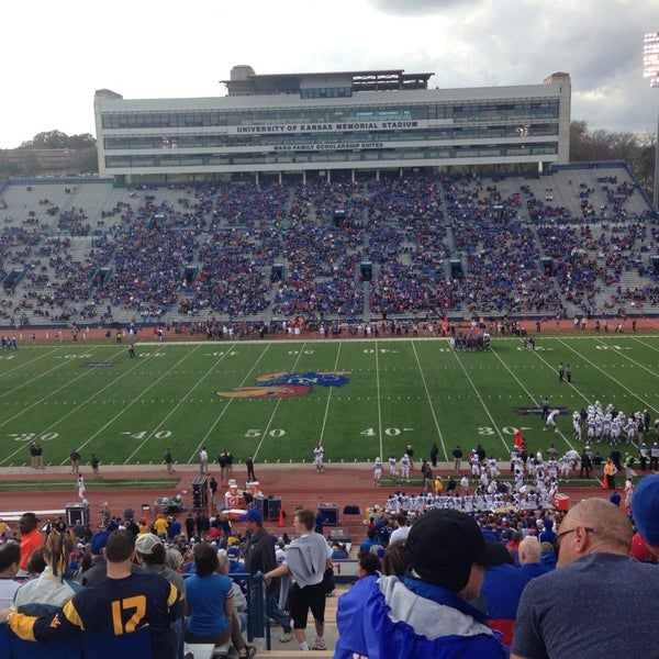 Photo taken at Memorial Stadium by Jeremy W. on 11/16/2013