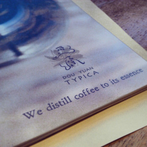 Photo taken at Typica Café by Andrew A. on 2/17/2013