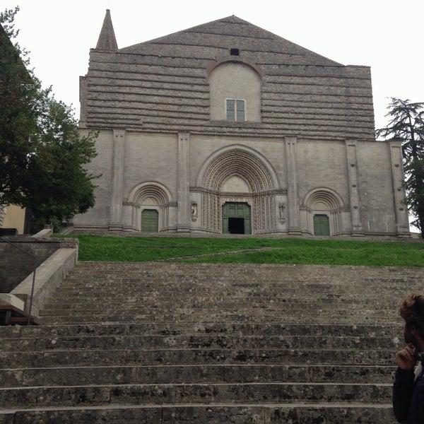 Photo taken at Basilica di San Fortunato by Stefano ☮. on 9/24/2015