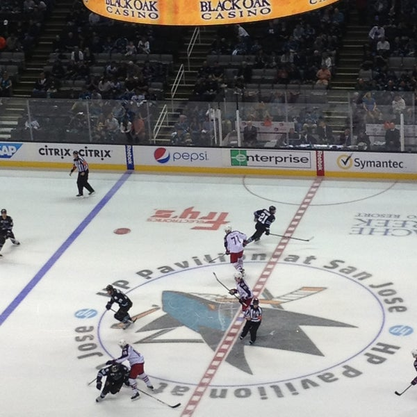 Photo taken at SAP Center at San Jose by Sean M. on 4/22/2013