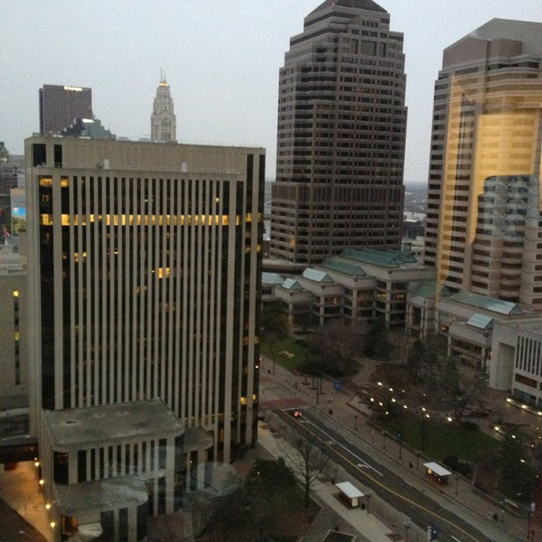 Photo taken at Hyatt Regency Columbus by Brittany G. on 3/25/2013