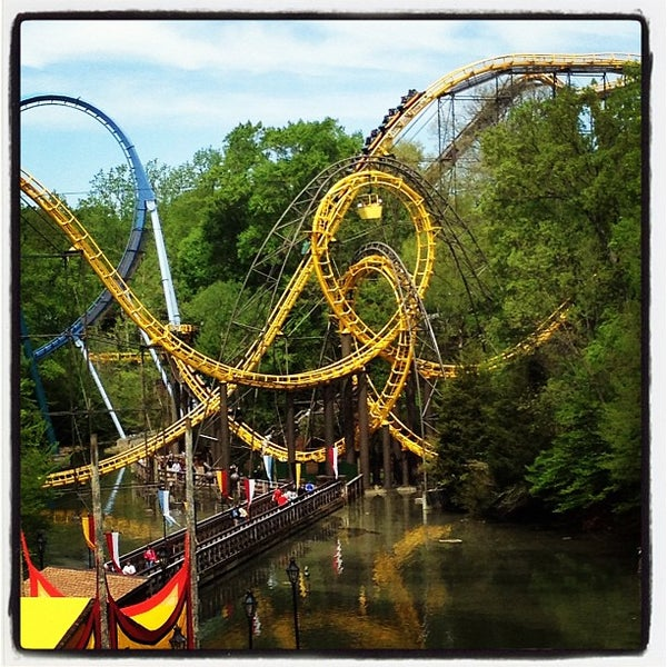 Photo taken at Busch Gardens Williamsburg by Matthew P. on 4/21/2013