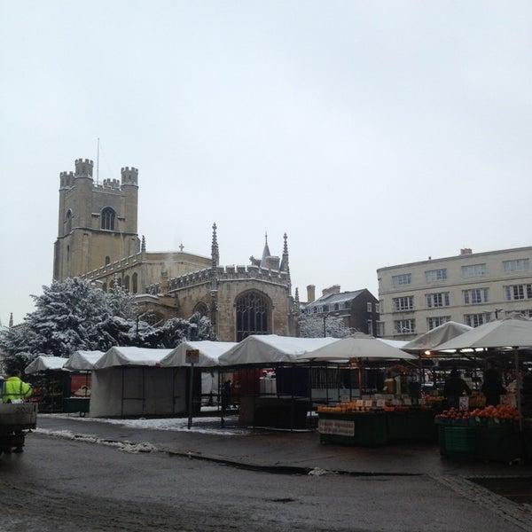Photo taken at Cambridge Market by Seda B. on 1/21/2013