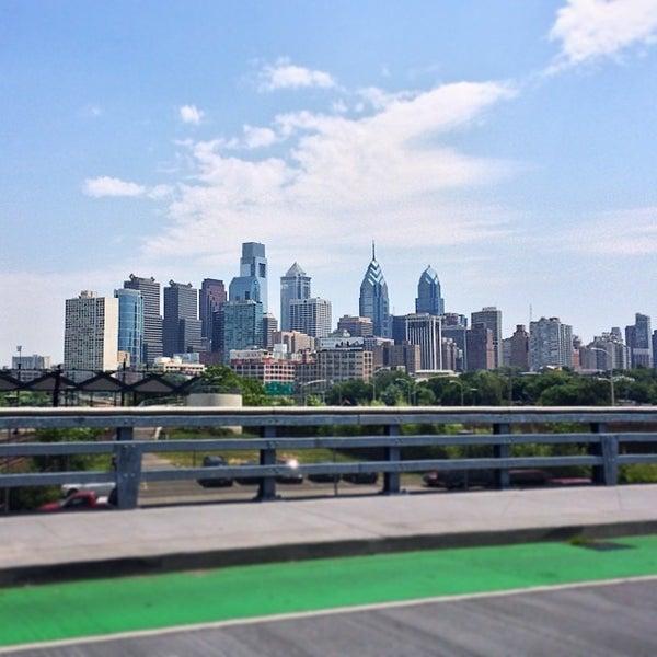 Photo taken at South Street Bridge by Mike D. on 7/8/2014