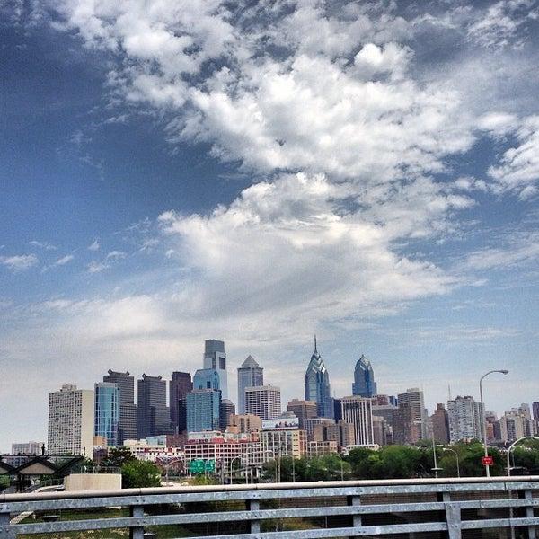 Photo taken at South Street Bridge by Mike D. on 5/15/2013