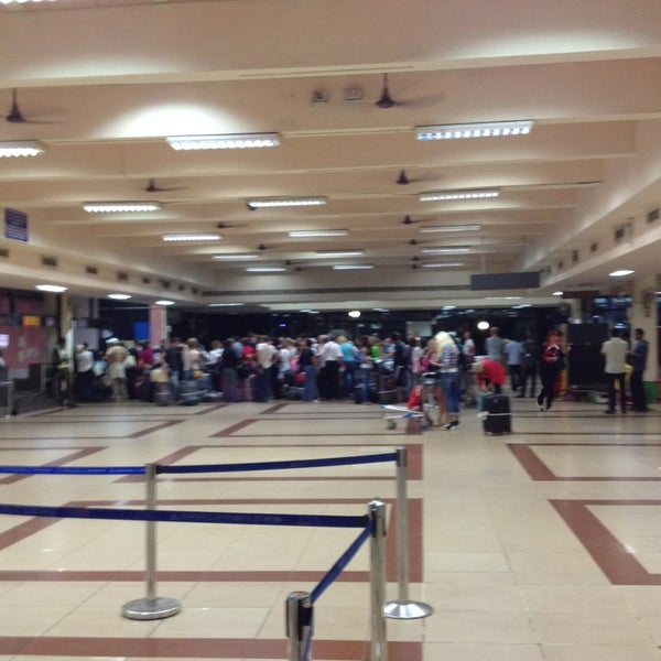 Photo taken at Dabolim Goa International Airport (GOI) by Nataly A. on 1/18/2013